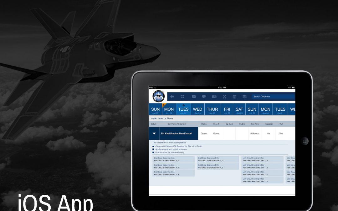 Lockheed IOS app