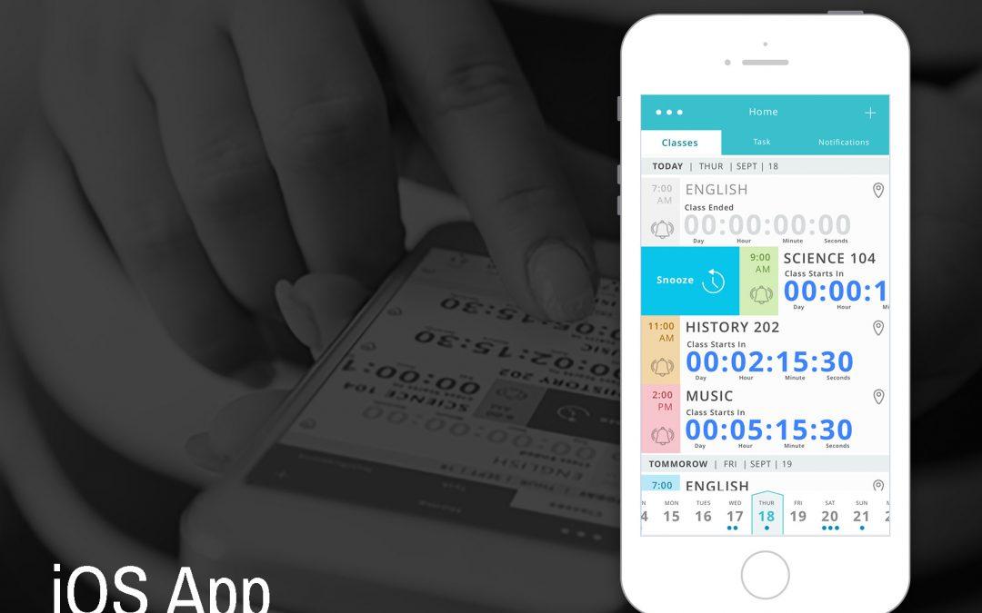 College Class Tracker App