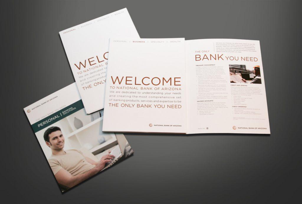 National Bank of Arizona Brochures